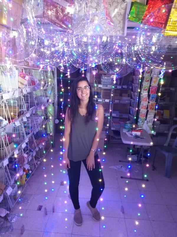 בלון שקוף עם אורות   בלון בובו   בלון באבל