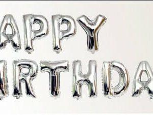 בלונים לניפוח עצמי happy birthday