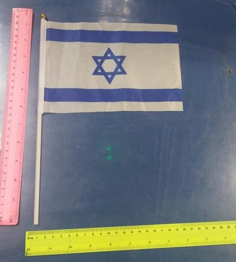דגל ישראל לגנים   דגל עם מקל   אביזרים ליום העצמאות