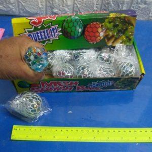 כדור לחיצה ענבים צבעוני | פיגי טויס כדור ענבים
