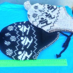 כובע צמר עם קשירה | כובע צמר איכותי
