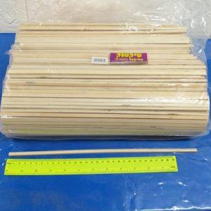 מקלות לשערות סבתא | מקלות למכונת סוכר | מקלות ימבמבם | עץ ארוך במיוחד מחוספס