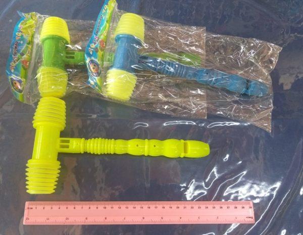 פטיש פלסטיק בינוני | פטיש צעצוע פלסטיק | פטיש צפצפה