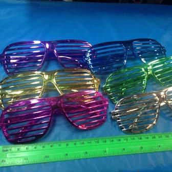 משקפיים למסיבות נוצצות | אביזרים למסיבות