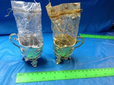 שקית אורגנזה גביע השפע   שקית אורגנזה מזכרת