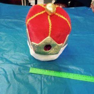 כובע מלך, פרווה מפואר