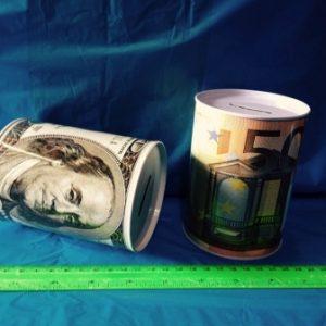 קופת חיסכון פחית שימורים | קופת חיסכון מפח