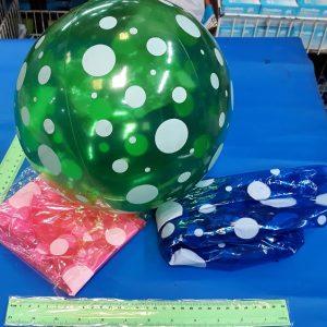 כדור ים שקוף נקודות | כדור מתנפח