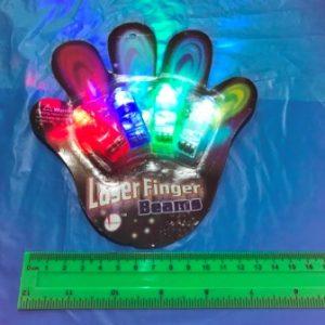 טבעות פינגר 4 יחידות LED | אביזרים למסיבות