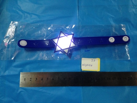 צמיד אורות דגל ישראל