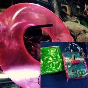 """גלגל ים ענק צבעוני 80 ס""""מ"""