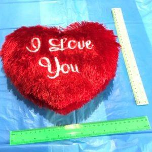 כרית פרווה | כרית לב בינוני | בובות למכונות
