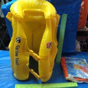 אפודת שחייה | מתנפחים לבריכה
