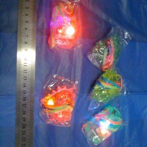 אביזרים למסיבות,שרשרת אור, 3 לדים צבעוני