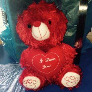 דובי פרווה | דובי אדום LOVE