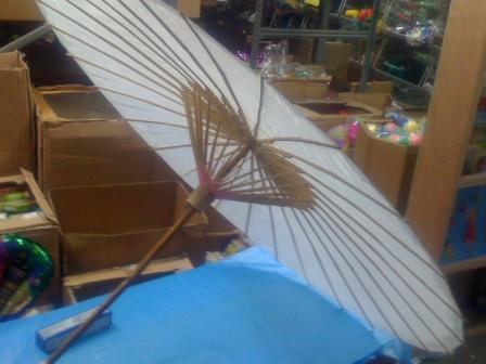 מטרייה במבוק, מטרייה סינית