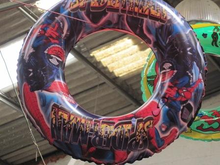 גלגל ים ספיידרמן   גלגל ים לילדים