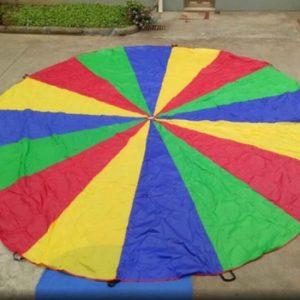 מצנח הפעלה לילדים | קוטר 3.6 מטר | מצנח לילדים