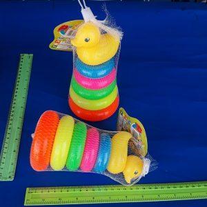 מגדל טבעות השחלה קטן | צעצועים בסיטונאות