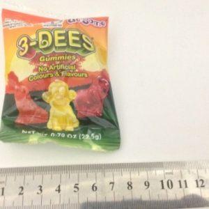 סוכריות גומי בשקית | סוכריות גומי בצורות