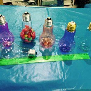 מנורה למילוי | מנורה מפלסטיק | מנורת קופסא