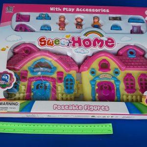 בית בובות בינוני | צעצועים בסיטונאות
