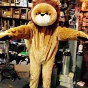 תחפושת אריה | תחפושת למבוגרים | בובת ענק