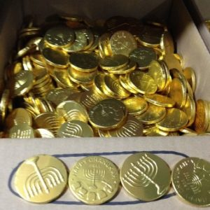 מטבעות שוקולד 5 גרם - 1 ק''ג