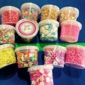 סוכריות לקישוט | סוכריות בצורות