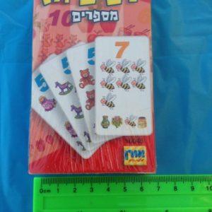 משחק קלפים רביעיות מספרים