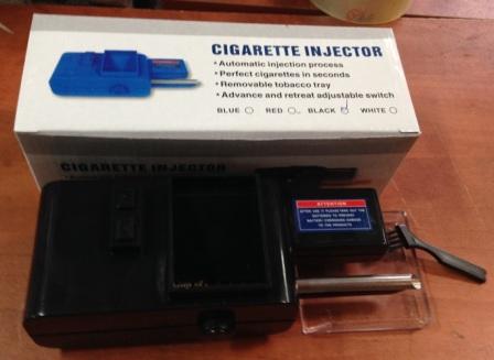 מכונה חשמלית למילוי סיגריות | מכונה למילוי סיגריות חשמלית על סוללות
