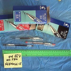 עט פיילוט 0.4 | עטי פיילוט 0.4 צבעים