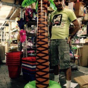 דקל מתנפח ענק | גודל 2 מטר