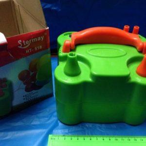 משאבה לבלונים חשמלית | קומפרסור לבלונים ירוק או ורוד