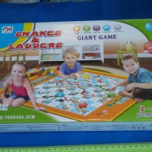 משחק שטיח סולמות וחבלים | משחק שטיח לילדים