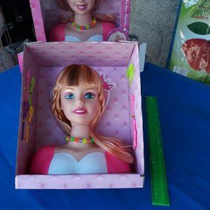 ראש בובה לתסרוקות | צעצועים בסיטונאות