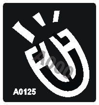 קעקוע פרסה | קעקועי חינה | שבלונה דגם 125