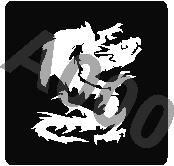 קעקוע דרקון | קעקועי חינה | שבלונה דגם 160