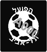 קעקוע הפועל תל אביב | קעקוע זמני | שבלונה דגם 174