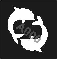קעקוע דולפינים | קעקועי נצנץ | שבלונה דגם 185