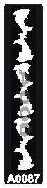קעקוע כרישים | קעקועי חינה | שבלונה דגם 087