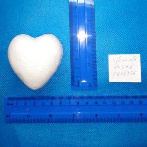 """לב מקלקר 6/6 ס""""מ"""