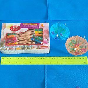 מטריות לקוקטיילים מארז 100 יחידות | אביזרים למסיבות