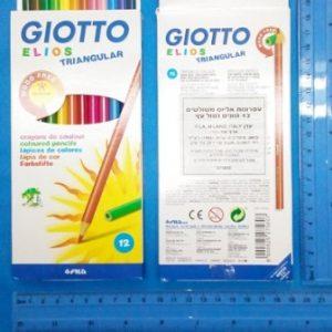 עפרונות צבעוניים של Giotto.