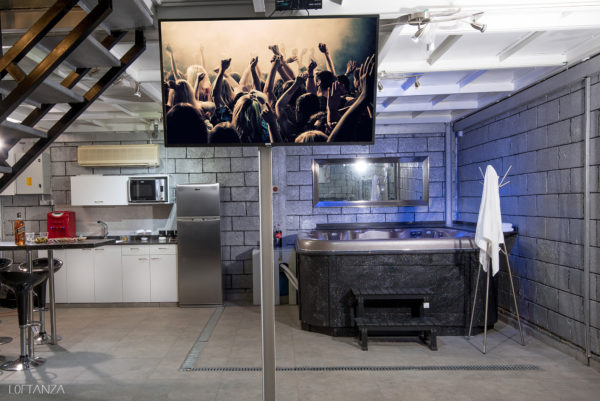לופט לופטנזה מבט על מטבח וגקוזי