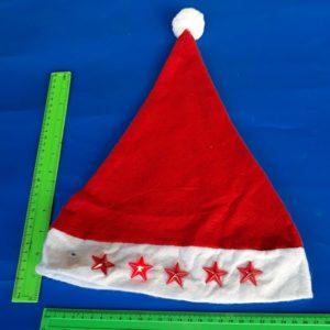 כובע סנטה אורות | כובע סנטה קלאוס אורות