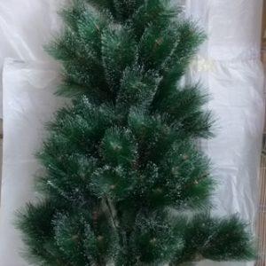 עץ חג המולד | עץ כריסמס | עץ אשוח 1.5 מטר עם קצוות שלג צבועים