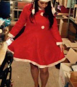 תחפושת סנטה קלאוס בנות | תחפושת סנטה בנות