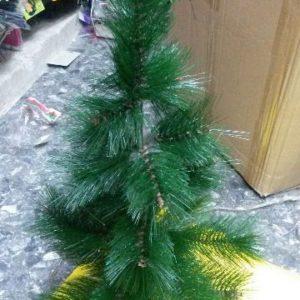 """קישוטים לכריסמס, עץ אשוח, 60 ס""""מ ירוק"""
