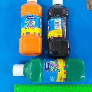 צבעי גואש לילדים | צבע גואש 500 גרם | צבעי גואש אומגה